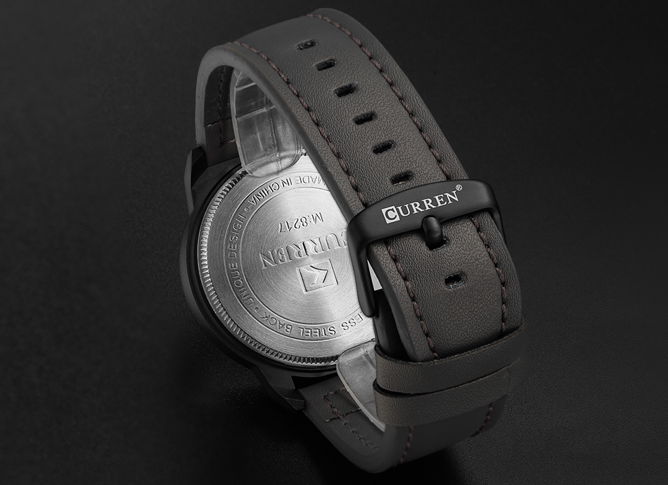CURREN Men's Casual Sport Quartz Watch Mens Watches Top Brand Luxury Quartz-Watch Leather Military Watch Wrist Male Clock Drop HTB1eYVleuOSBuNjy0Fdq6zDnVXaZ