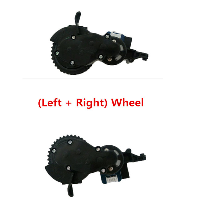 Vacuum Cleaner Parts Applicable for proscenic kaka series proscenic 790T 780TS JAZZS Alpaca Plus (Left + Right) Wheel
