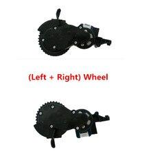 أجزاء مكنسة كهربائية قابلة للتطبيق على سلسلة proscenic kaka proscenic 790T 780TS jazs Alpaca Plus (يسار + يمين) عجلة