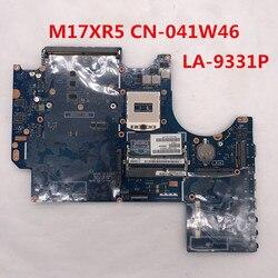 Haute qualité Pour Alienware M17XR5 M17X R5 Ordinateur Portable carte mère CN-041W46 041W46 41W46 VES00 LA-9331P HM86 DDR3 100% entièrement Testé