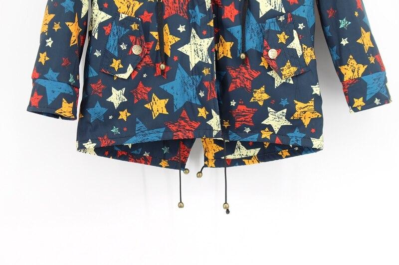 child winter real fur parkas coat (5)
