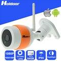 Wireless 1080 p 3.6mm lente de vigilancia de seguridad p2p cámara al aire libre ir cut visión nocturna motion detección de alarma de alerta de correo electrónico onvif
