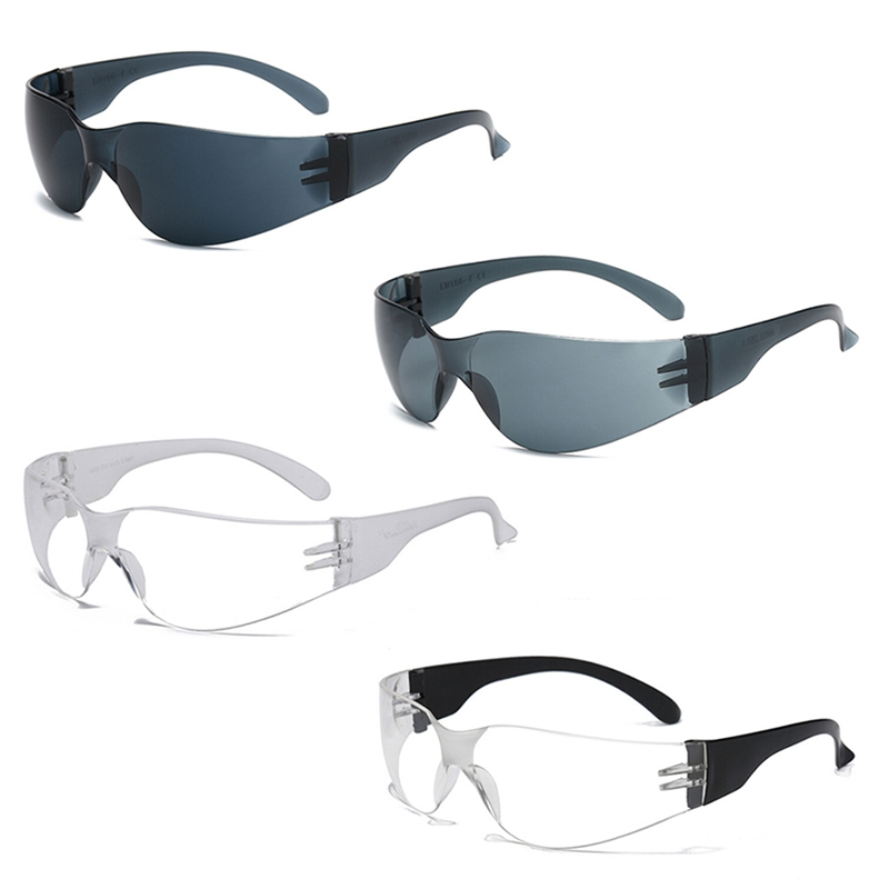 Safety Eyewear Protective Glasses Safety Work Spectacles New Glasses Clear Smoke Dark Green / Ink Gray / Transparent Lens