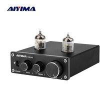 AIYIMA 6J1 ламповый усилитель Bile, преусилитель HIFI, высокочастотный регулятор басов, аудио усилитель DC12V для усилителя динамика