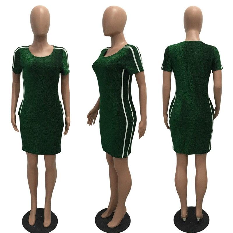 5875ff6339 BerryPark Sport Camiseta larga con bolsillo 2019 nuevo verano Mujer ocio  manga corta lado rayado correr ropa deportiva vestido de tenis en Vestidos  de tenis ...