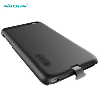 Nillkin Czarny Qi Odbiornik Bezprzewodowy Ładowarka Case dla iPhone 7 Plus Wireless Charging Telefon Protective Case Back Cover dla iPhone7
