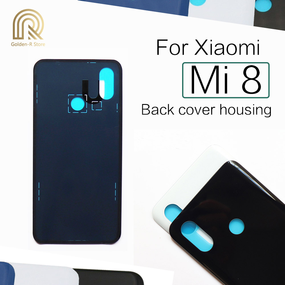 Original For <font><b>Xiaomi</b></font> Mi8 <font><b>Battery</b></font> <font><b>Cover</b></font> Back Glass Rear Door Housing Case For <font><b>Xiaomi</b></font> <font><b>Mi</b></font> <font><b>8</b></font> <font><b>Battery</b></font> <font><b>Cover</b></font> Replacement image