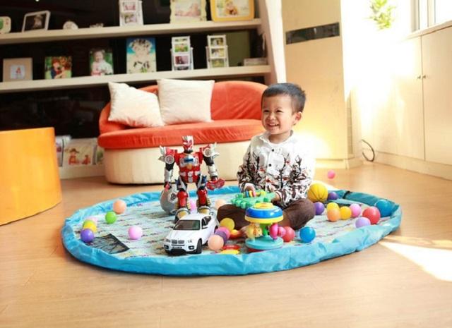 2 Tipos de Diâmetro 115 cm À Prova D' Água Saco de Armazenamento de Brinquedos Cobertores Tapete de Piquenique Rastejando Tapetes de Jogo Do Bebê Tapete Tapete Para Crianças