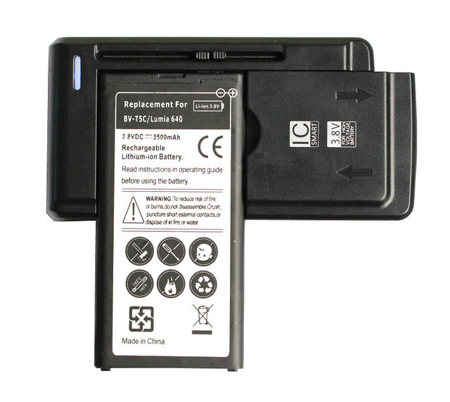 Ciszean 3500mAh BV T5C 3.8VDC Replacement Cell Phone