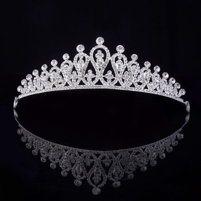 Princess Tiara Crown headband Bride wedding Accessories tiaras and crowns for wo