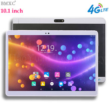 BMXC 10.1 pulgadas Original 3G tableta Del Teléfono de llamada Android 6.0 Quad Core a estrenar WiFi GPS FM 4G Tablet pc 2 GB + 32 GB Anroid 6.0 Tabletas Pc