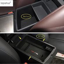 Lapetus Accessori Per KIA Optima K5 Modello Automatico 2016 2017 2018 Centrale Multifunzione Contenitore di Scatola di Immagazzinaggio Della Copertura Kit 1 pz