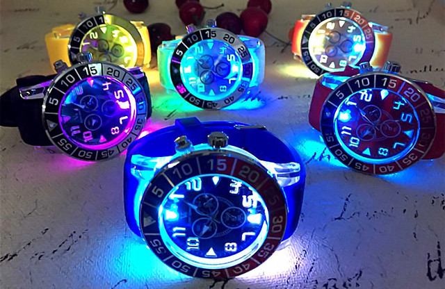 c02b674bdf8e kids watches Lovers Light watch brand V6 Silicone Top quality casual  military Sports Watch women dress watch Relogio Masculino