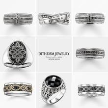 Faith Hope Love обручальные кольца, новые 925 пробы серебряные модные ювелирные изделия модный подарок для женщин и мужчин