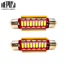 2pcs C5W 31mm 36mm 39mm 41mm Led Festoon 4014 SMD SV8,5 264 Car Interior Light Lamp Trunk Dome Map Bulb for MAZDA 2 3 5 6