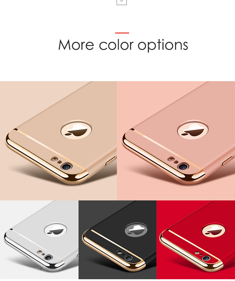 VOVTA Luxury Anti-Knock Cases For iPhone 6 8 7 Plus Case Plating Shockproof Full Cover For iphone 7 6s 8 Plus Phone Case10