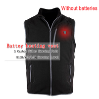 New USB Charging Heating Vest Winter Men S Vest Fleece Thick Vest Soft Clothes To Keep