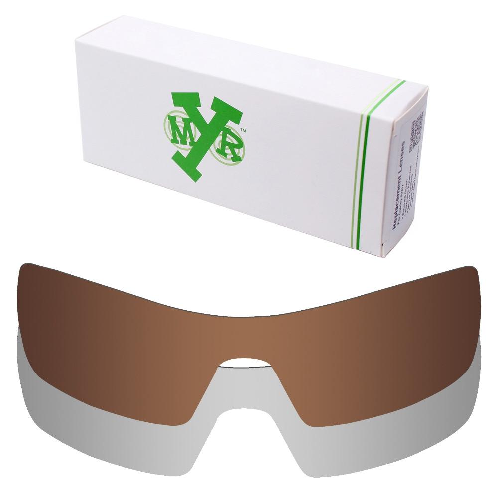 735186552f 2 Unidades MRY POLARIZADO Lentes De Repuesto para Oakley gafas de Sol de la  Plataforma Petrolera de Titanio Plateado y Bronce Marrón en Accesorios de  Ropa y ...