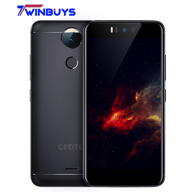 Geotel Amigo Smartphone 4G LTE 5.2 pulgadas HD MTK6753 Octa Core Android 7.0 1280*720 RAM 3 GB ROM 32 GB 13MP 3000 mAh móvil teléfono