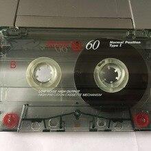 TKB60 60 минут нормальное положение тип 1 запись пустые кассетные ленты