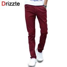 Mens Fashion Stretch Dünne Beiläufige Kleid Chino Hosen Business-Hose Rot Blau Khaki 28 29 30 31 32 33 34 36 38