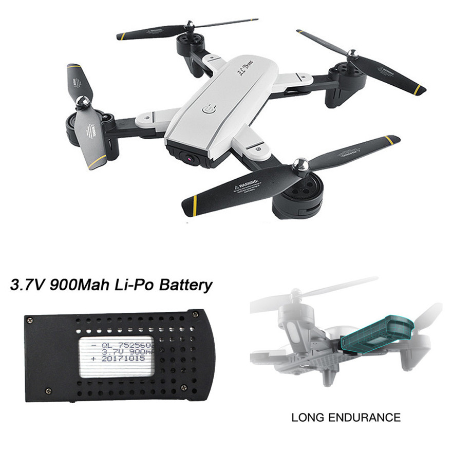 Batteries - LiPo For SG700/107S/S169 Drone 3.7V 900Mah Li-Po Battery Quadcopter Battery Aircraft Helicopter MAY 27