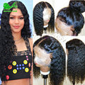 8A Lace Front Human Hair Wigs With Baby Hair Deep Wave Wigs Gluless Full Lace Human Hair Wigs For Black Women Human U Part Wig