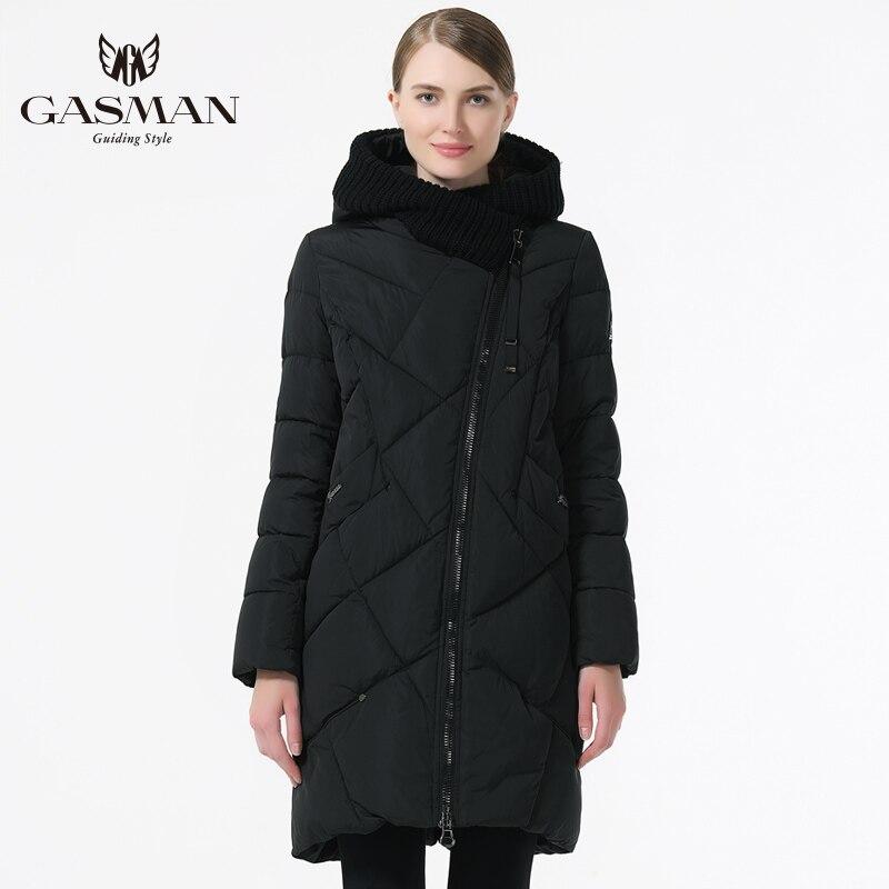 GASMAN 2019 пуховик женский с капюшоном женская парка куртка верхняя одежда зимняя пуховики для женщин большой размер 5XL 6XL - 2