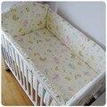 Promoção 6 PCS fundamento do bebê kit berço cama em torno de berço berçário do bebê berço cama pára choques