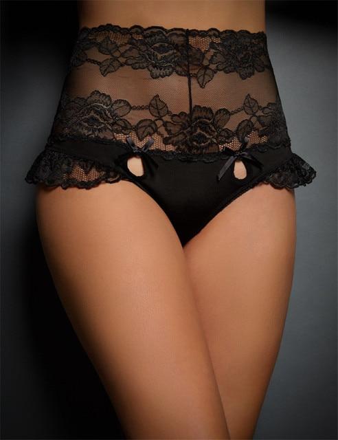 7ca2563fde1 Offre spéciale Sexy dentelle noire culotte transparente taille haute culotte  transparente bonne qualité Fitness dames sous