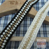 2 7cm 1 Or So 4yard Lot Clothes Cuff Chain White Pearl Beading Lace Trim Decoration