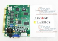 送料無料2ピースjamma 60で1古典マルチゲームボードpcbまたはアップ右アーケードゲームマシン