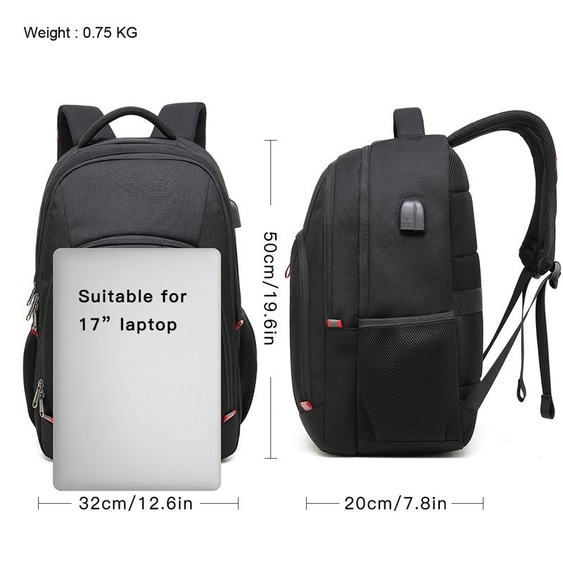 Backpacks Devoted Markroyal Anti-thief Laptop Backpack Male Usb Charging Daypacks Waterproof 15.6 Notebook Backpack School Student Bag For Ipad