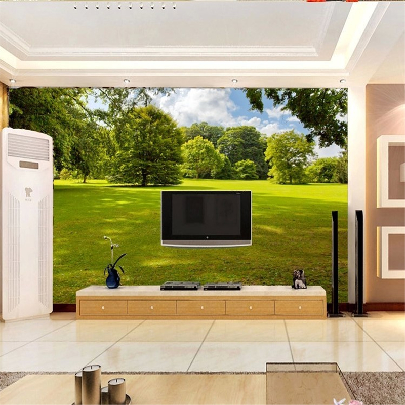 beibehang Photo Wallpaper Simple Subtle 3D Landscape Living Room Bedroom Painting Mural 3d Wallpaper Wall paper papel de parede beibehang beautiful rose sea living room 3d flooring tiles papel de parede para quarto photo wall mural wallpaper roll walls 3d