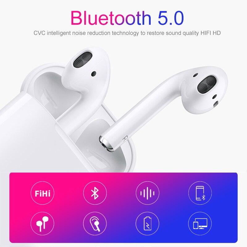 IBesi Original i12 Tws Bluetooth écouteurs 5.0 écouteurs sans fil casque tactile contrôle casque i12 Tws Mini pour iPhone Xiaomi - 3