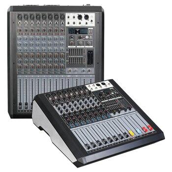 Микшерная консоль 48 в монитор фантомного питания путь AUX эффекта 8 12 каналов аудио микшер USB поставляется с усилителем питания JD
