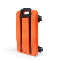 200KG Folding Portable Hand Trolley Flat Trolley Folding Bag Trolleys Luggage Shopping Cart Portable Stainless Truck