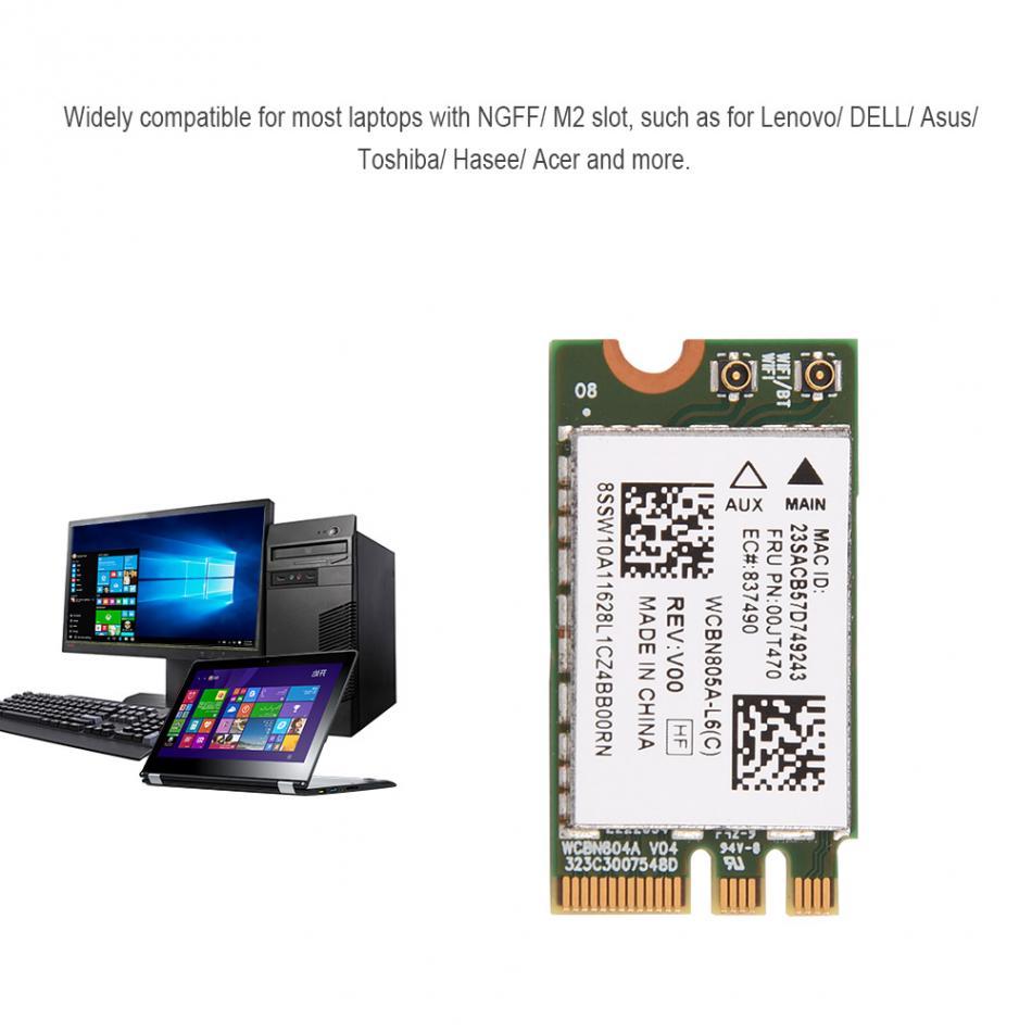Breite Kompatibilität 2,4g/5g Dual-band Mini Wifi Netzwerk Karten Drahtlose Ngff/m2 Karte Für Lenovo/dell/asus