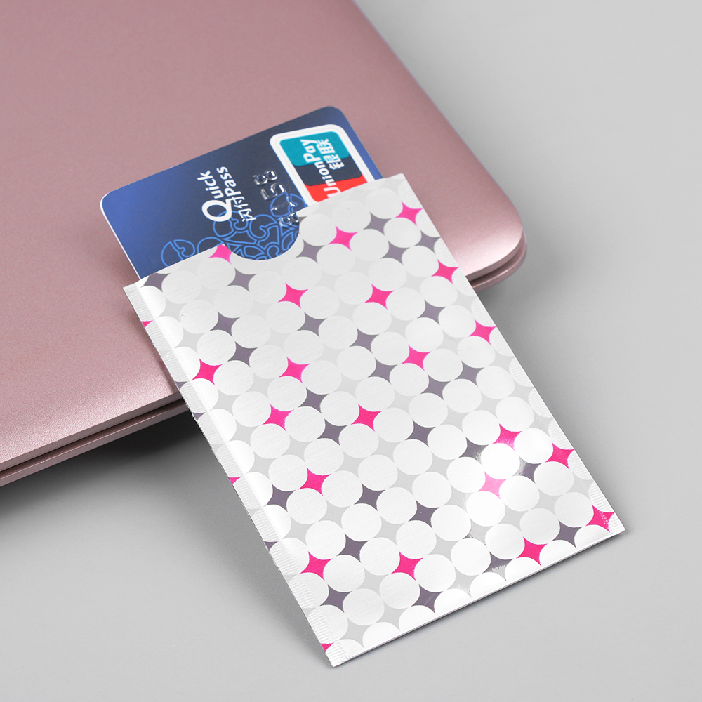 10 Pcs Nieuwe Bescherming Credit Card Case Pack Anti-diefstal Rfid Blocking Kaarthouder Carte Rfid Card Metal Rfid Covers Voor Bank Kaarten Bekwame Vervaardiging
