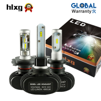 2Pcs 9005 HB3 9006 HB4 H11 H4 H7 Led Auto Car Headlight S1 N1 50W 8000LM