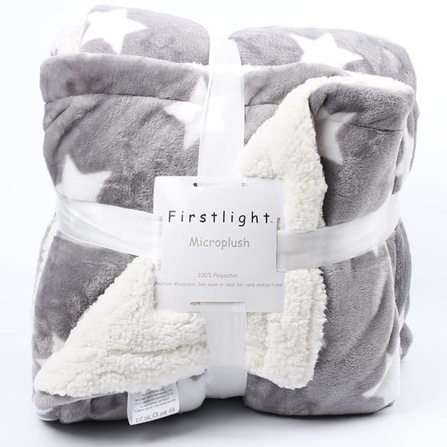 Winter Fleece Printed Blanket 2