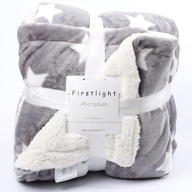 Hiver tricoté flanelle polaire Couverture deken adulte mantas de cama cobertor doux épais sherpa jeter couverture pour/sur canapé /lit/canapé