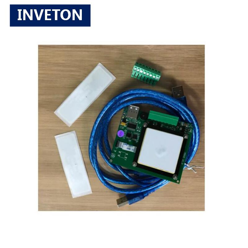 UHF RFID Integrated reader writer Module with antenna all in one 865 868MHz or 902 928MHz