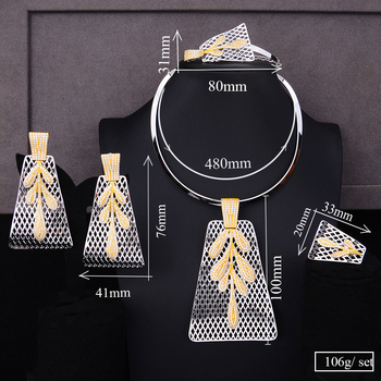 4PCS Big Pendant  Jewelry Set  5