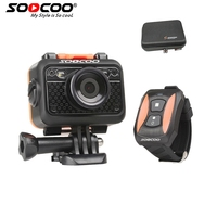 SOOCOO S60 Sport Action Camera Anti Shock 60M Waterproof Wifi 1080P FullHD 70Degree Lens Wireless Remote