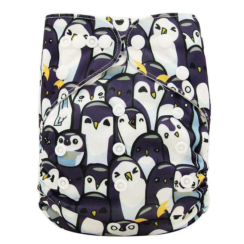 Baby Nappy Diaper Newborn Nappy Couche Lavable Character Pattern Ohbabyka Diapers Reusable Nappies Baby Cloth Diaper Cover цена