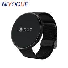 Niyoque M88S смарт-наручные часы Приборы для измерения артериального давления кислорода Мониторы сердечного ритма браслет smartband для iOS Andrioid