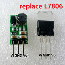 DD4012SA_6V 1A DC 7.5-40 V 12 V para 6 V Regulador DC-DC Step-Down Buck Módulo Converter placa substituir L7806 LM7806 TO-220 IC(China)