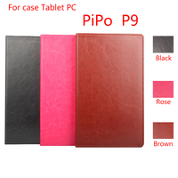 HongBaiwei For Pipo P9 High Quality Crazy Horse PU Leather Tablet PC Caes Flip Stand Cover
