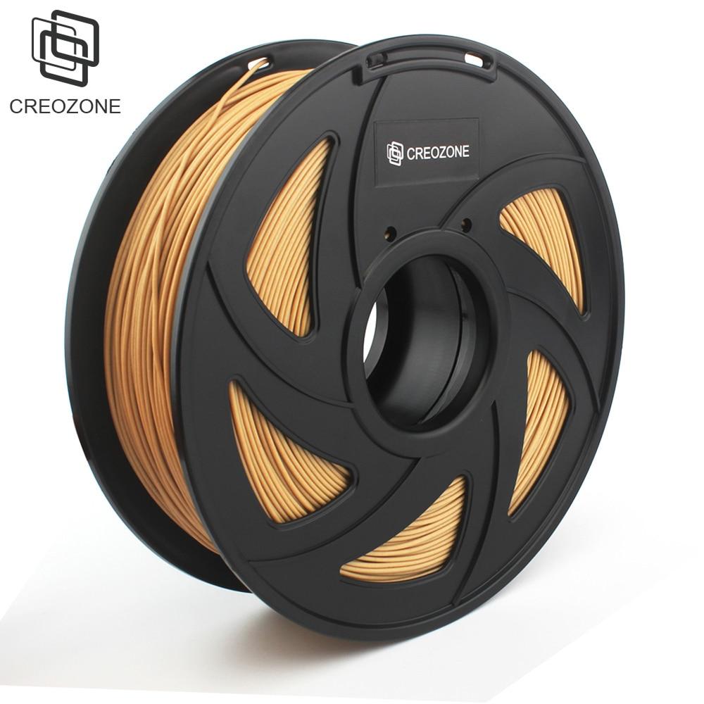 CREOZONE Wood Filament 3D Printer Supplies 1kg Filament Spool 3D Printer Wood 1 75 Dimensional Accuracy